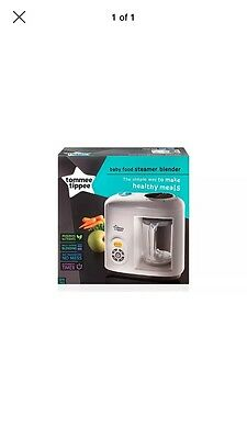 Tommee Tippee Baby Food Steamer Blender FAST FREE DELIVERY