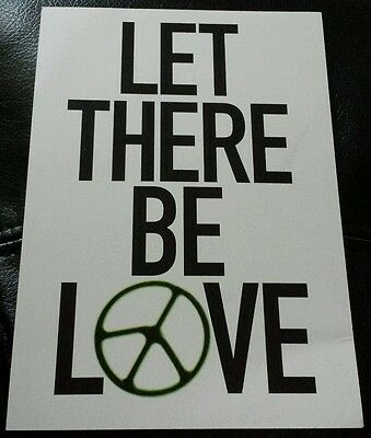 Oasis let there be love flyer