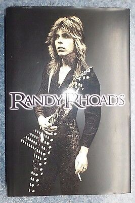 Randy Rhoads 2012 Hardcover Book Rosen & Klein * Autographed * Signed By Authors