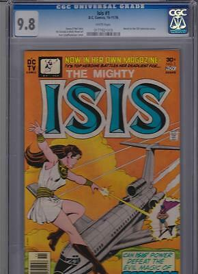Isis # 1 CGC 9.8 Highest Grade. Perfectly Centered with White Pages.