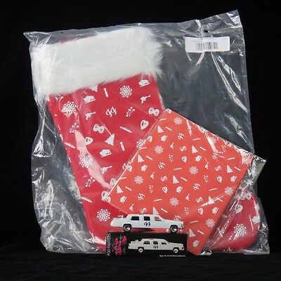 Foo Fighters Christmas Gift Lot Xmas Stocking Wrapping Paper Die Cast White Limo