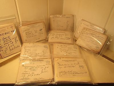 Vintage Lot 1000+ Prescriptions from 1940's Southwestern Virginia Apothecary.
