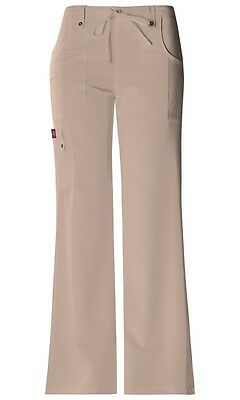 45f109cde40 Dickies Scrubs Xtreme Stretch Cargo Scrub Pants 82011 Khaki Junior Fit