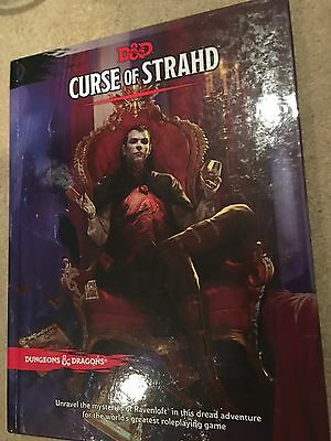 Dungeons And Dragons Curse Of Strahd Book In Very Good Condition