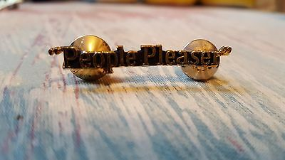 """Radisson """"People Pleaser"""" Server Pin from Early-Mid 1990s"""