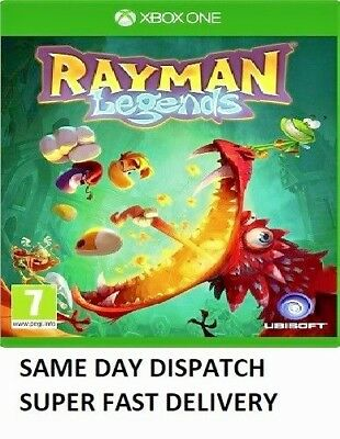 Rayman Legends (XBOX ONE) -  NEW - 1st Class Delivery