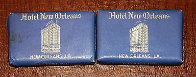 New Orleans - 2 Old Soaps From Hotel New Orleans