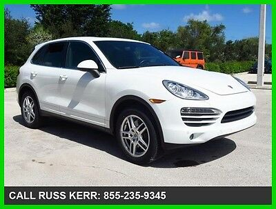 2014 Porsche Cayenne Premium Plus Bose Clean Carfax AWD 2014 Cayenne All Wheel Drive Moonroof Premium We Finance and assist with Shippin