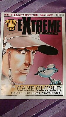 2000AD Extreme Edition number 30 19th August 2008