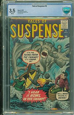 Tales Of Suspense #6 [1959] Certified[3.5] Classic Cover