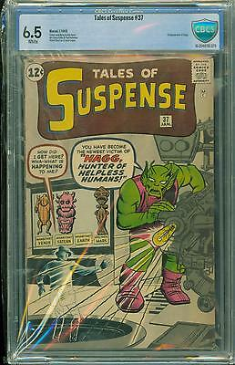 Tales Of Suspense #37 [1963] Certified[6.5] Kirby/lee Classic