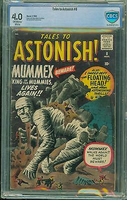Tales To Astonish #8 [1960] Certified[4.0] Classic Cover