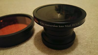 EPOQUE DCL-20 52DR UNDERWATER Wide Angle Conversion Lens, Red IKELITE Filter