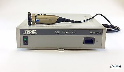 Karl Storz Image 1 Camera System w/S3 Camera Head and Coupler