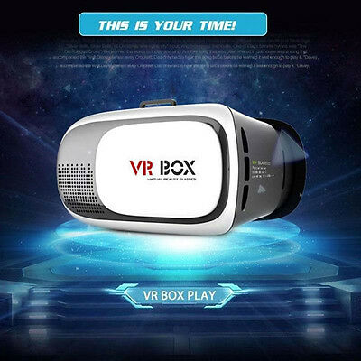 Virtual Reality VR Box Headset Goggles 3D Glasses For Android IOS Smart Phone
