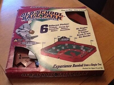 Old School Baseball Game - Rare In Uk -no Reserve