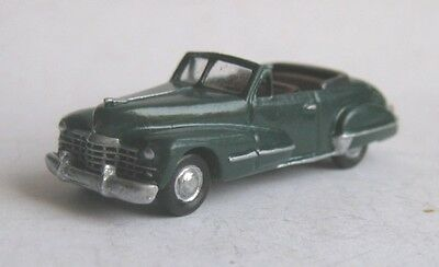 TT scale (1:120) model of 1947 Cadillac Series 62 convertible