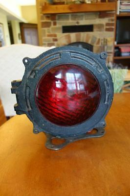 Large Railr0Ad  Rr Union Switch &  Signal Warning Light Crossing