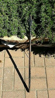 Antique Wrought Iron Fence Part Garden Decor Vintage Yard Art Old Trellis Gothic