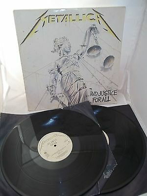 "Metallica ...And Justice for all Double 12"" LP Vinyl"