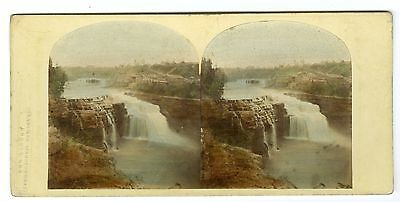 William England, London Stereoscopic Co.-Falls of the Genessee River, Rochester