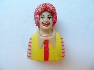 Vintage 1983 Ronald McDonald Pencil Sharpener, Rare and Very Collectible!!