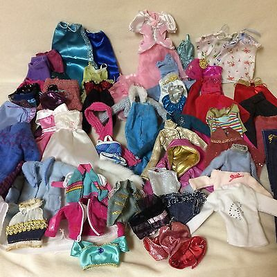 Huge lot of handmade and Store bought Barbie Clothes Doll 66 pieces!!!