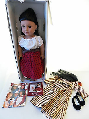 1997 American Girls Josefina Montoya Doll Pleasant Co. First Edition Meet Outfit