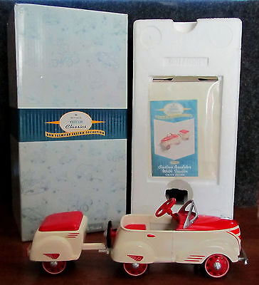 L@@k Hallmark 1940 Custom Roadster With Trailer Mint In Box Opened For Photo Onl