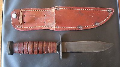 Ww11 Mark 1  Fighting Knife, Sterile Blade  No Marking Probably By Imperial Near