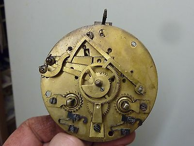 Antique French Clock Striking Movement (Oi)