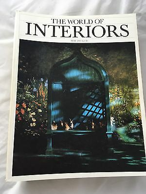 World Of Interiors Magazine Bundle From 1980's And 90's 7 Magazines
