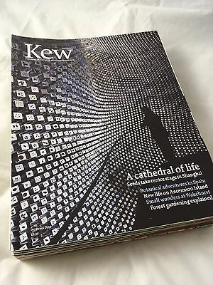 Kew Magazine (Published By The Royal Botanic Gardens) Bundle 13 Magazines