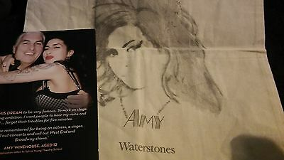 Amy Winehouse - Artwork Tote Bag & Promo Card