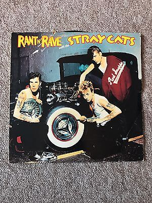 Stray Cats - Rant And Rave With The Stray Cats-  Lp Record