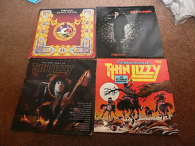 Thin Lizzy Phil Lynott Collection Of Four Albums
