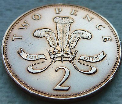 RARE 1984 2p NEVER RELEASED IN FINE GRADE COIN HUNT 32st BIRTHDAY GIFT ###