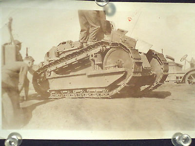 WWI Tank Troop Personal Carrier with second vehicle in background