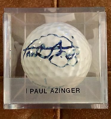 Paul Azinger 2008 Ryder Cup Winning Captain Signed Golf Ball Auto Valhalla ����