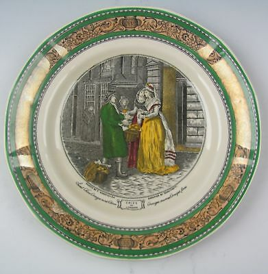 Adams China CRIES OF LONDON-SWEET ORANGES Salad Plate(s) EXCELLENT