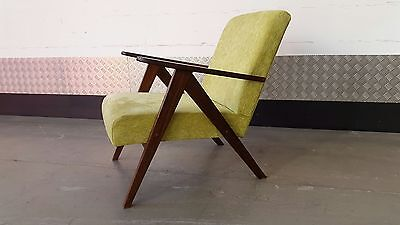 Vintage DANISH Armchair Lounge Chair Design Mid Century Renovated