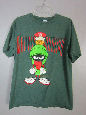 Vintage 1992 90S MARVIN THE MARTIAN LOONEY TUNES T-SHIRT ADULT LARGE