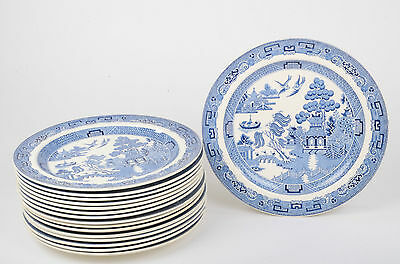 Wedgwood Willow Pattern Plates