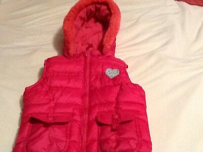 m and s Girls aged 2-3 body warmer