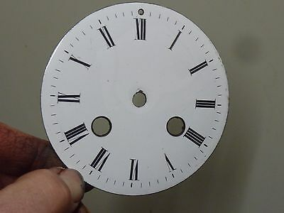 "Good Antique French Striking Clock 3 3/4"" Enamel Dial (B)"