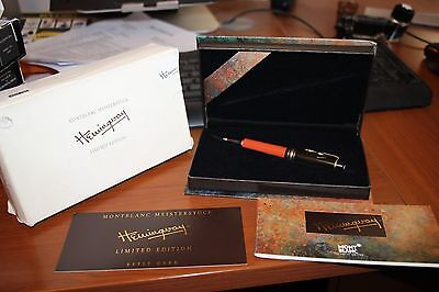 Montblanc HEMINGWAY Limited Edition Ballpoint Pen  NEW Year 1992