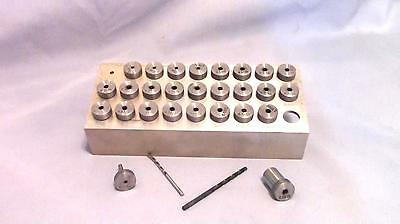 Drill Bushing Set (27 Piece) Aircraft Aviation Sheet Metal