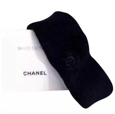 Brand New CHANEL Make Up Skincare Headband In Black