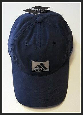 Adidas Adjustable Golf Cap - Dark Blue - Brand New - New With Tags