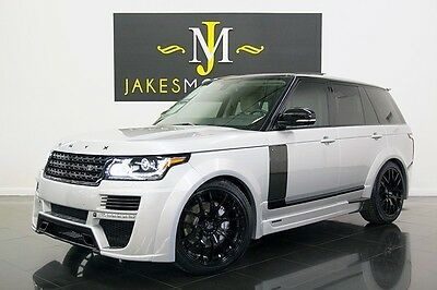 2014 Land Rover Range Rover Supercharged ONYX WIDE BODY...600 HP! 2014 RANGE ROVER SUPERCHARGED, ONYX WIDE BODY EDITION! $50K IN UPGRADES! 600 HP!